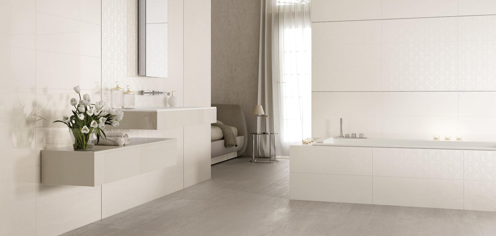 Obklady do koupelny melody m b keramika for Piastrelle bagno bianche lucide